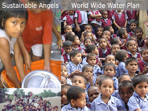 Sustainable Angels saves children through world wide water!