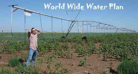 Chris Sanders - has turned the desert into a farm in New Mexico in an area that was considered not to be viable because of the lack of rain fall.  Chris Sanders has created sustainable integration for water creation.